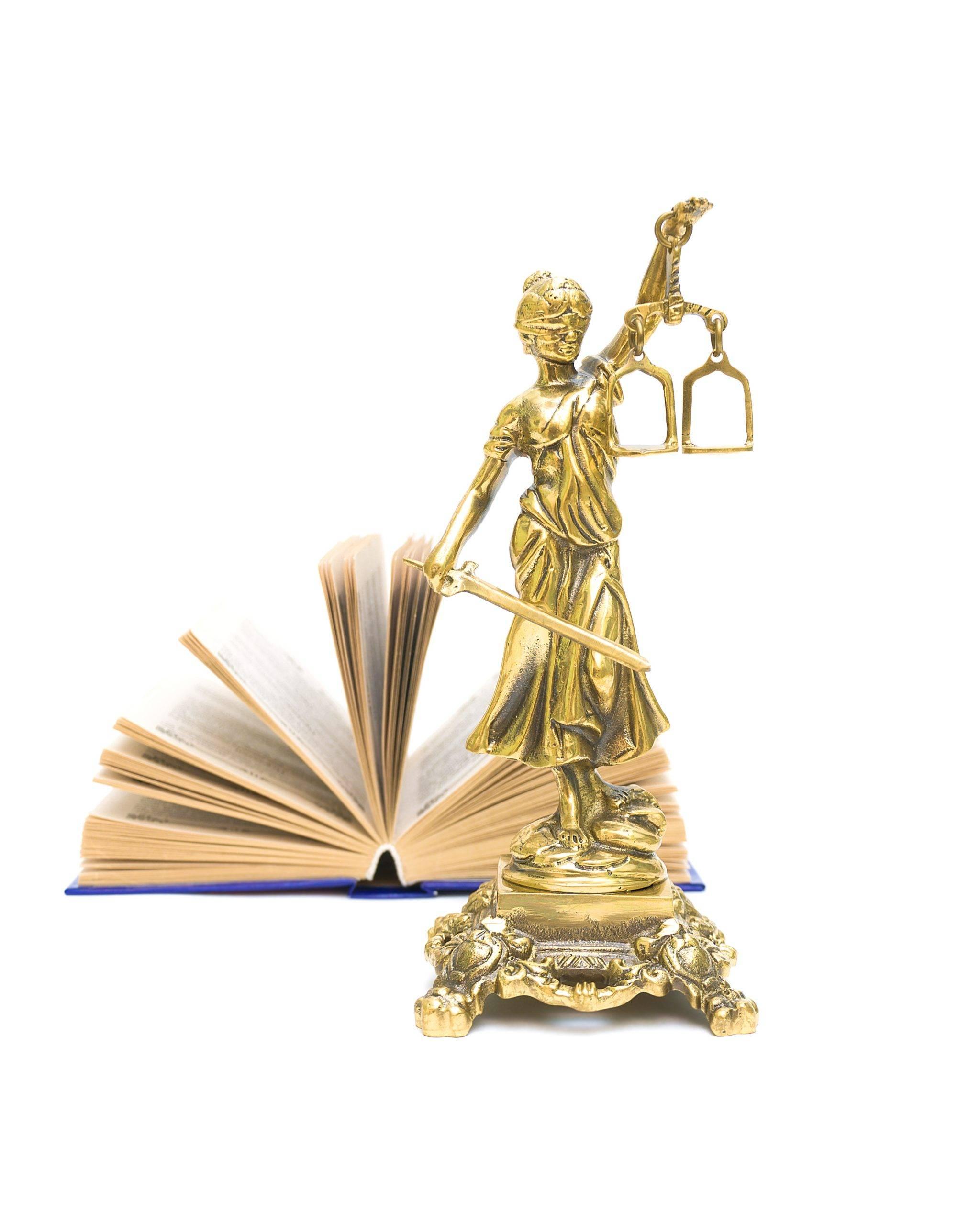Scheidung und Justitia in Kaiserslautern