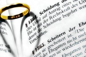 Nach der Scheidung bleibt oft nur der Ehering